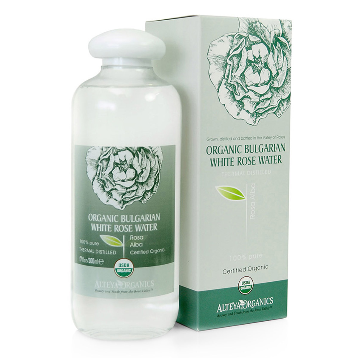 Nước hoa hồng bạch  hữu cơ ATE WRW (500ml)