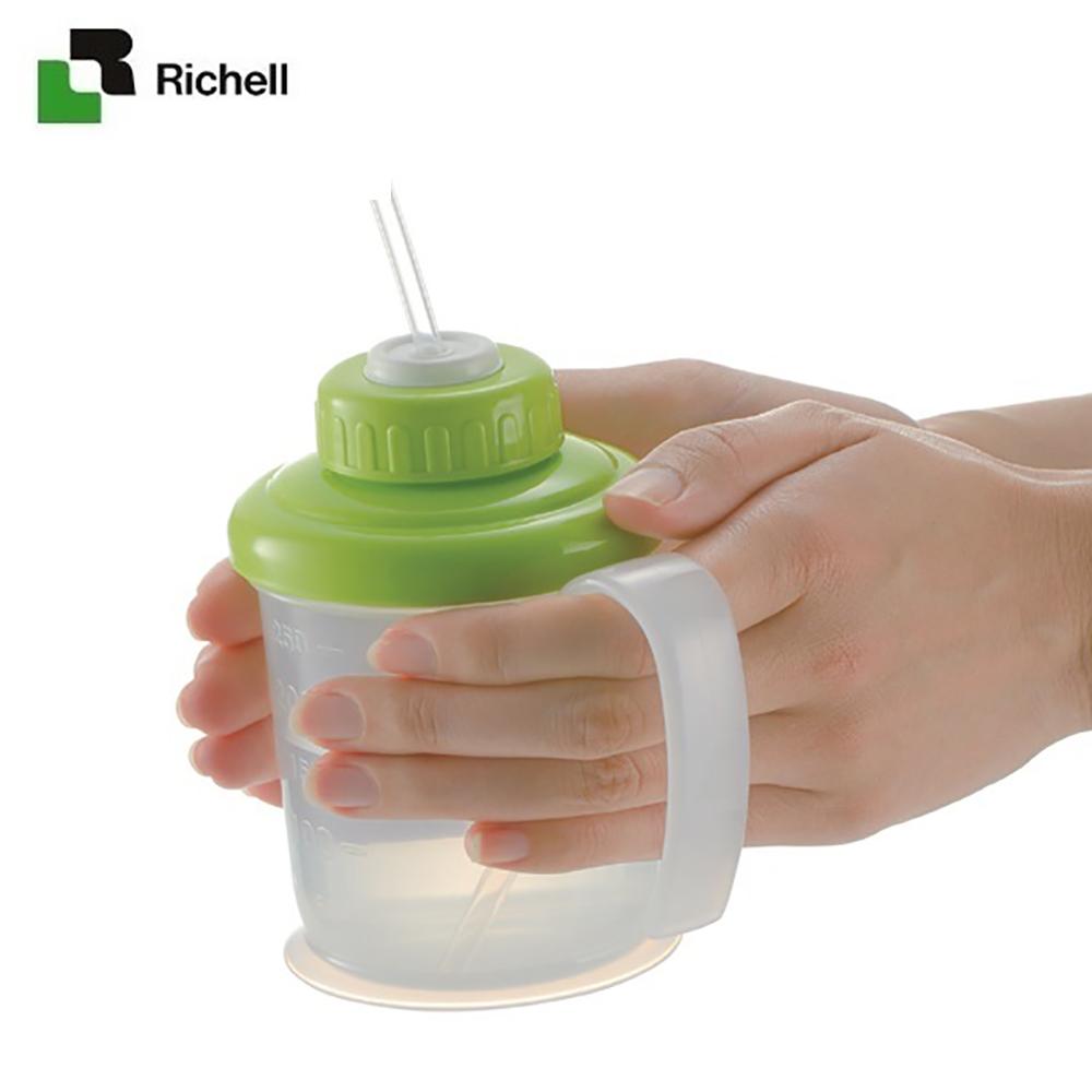 Cốc ống hút mềm TI Richell RC18451