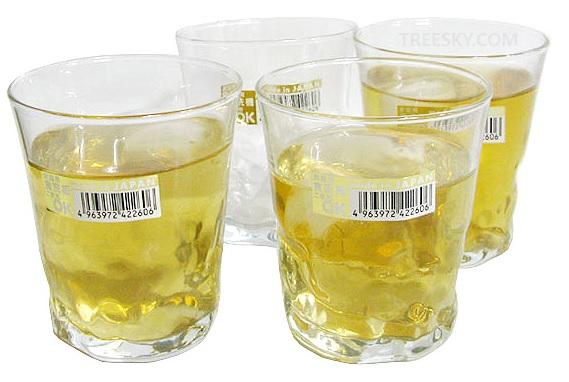 Bộ 4 cốc thủy tinh 285ml dáng thấp