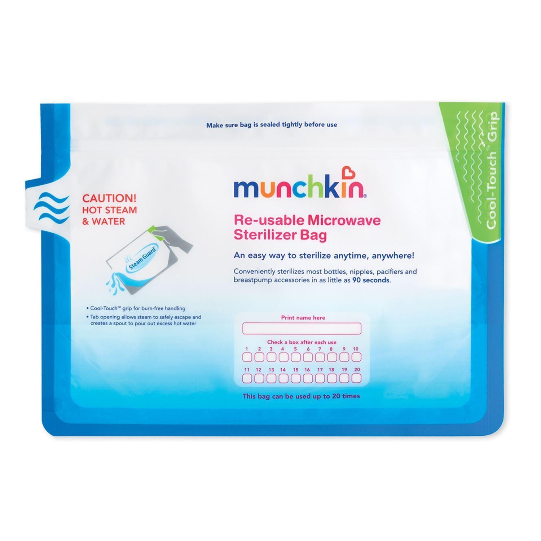 Túi tiệt trùng trong lò vi sóng (6c) Steam Guard™ Microwave Sterilizer bags (6pk) MK11003