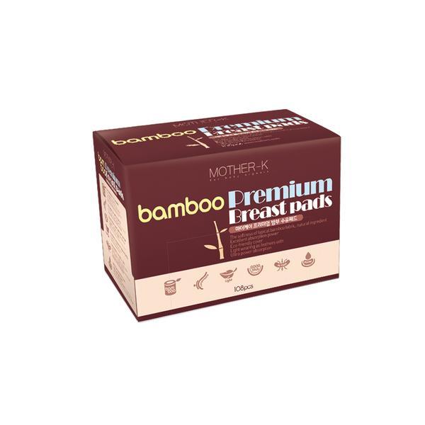 Lót thấm sữa sợi tre Mother-K  Hàn Quốc (108c) Bamboo breast pad_108