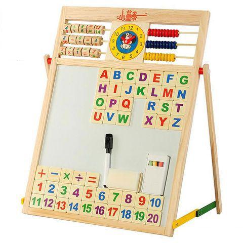 Bảng ghép nam châm có số và chữ
