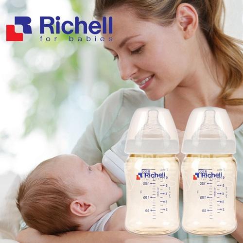 Bình PPSU Richell (320ml) RC98139