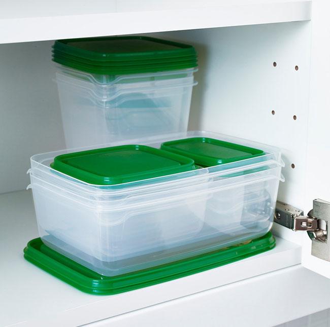 Bộ 17 hộp đựng thức ăn tiện dụng IKEA