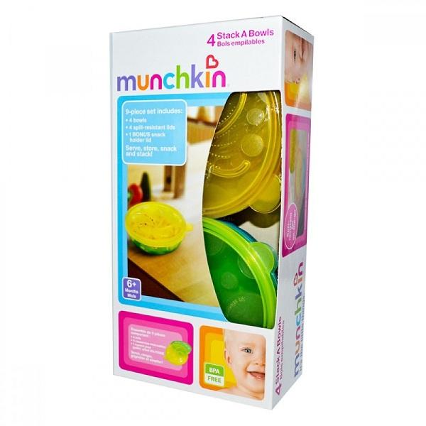 Bộ bát đa dụng (4c) Munchkin MK11348
