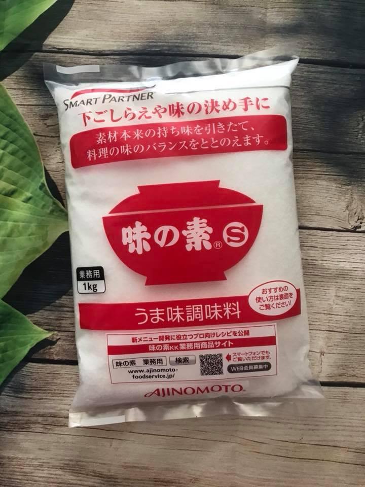 Mì chính Ajnomoto 1kg nội địa Nhật Bản