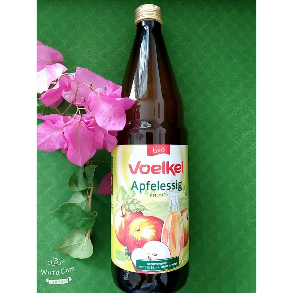 Giấm táo hữu cơ Voelkel (750ml)