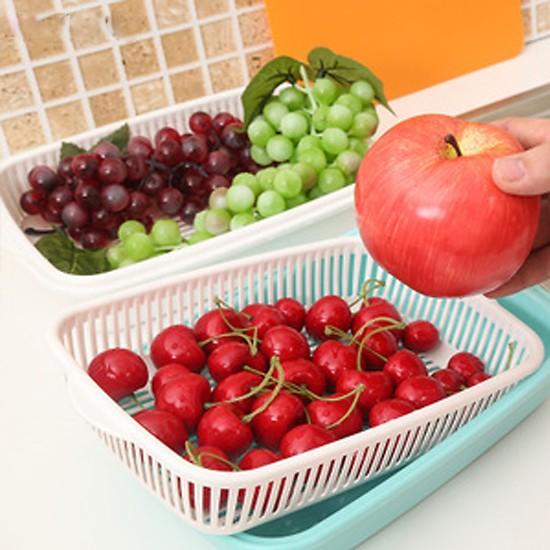 Giá đựng hoa quả hình chữ nhật Nakaya