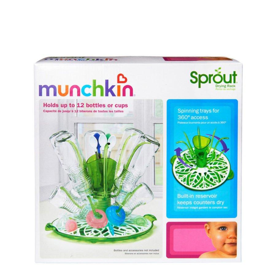 Giá úp bình sữa xoay tròn Munchkin MK11285