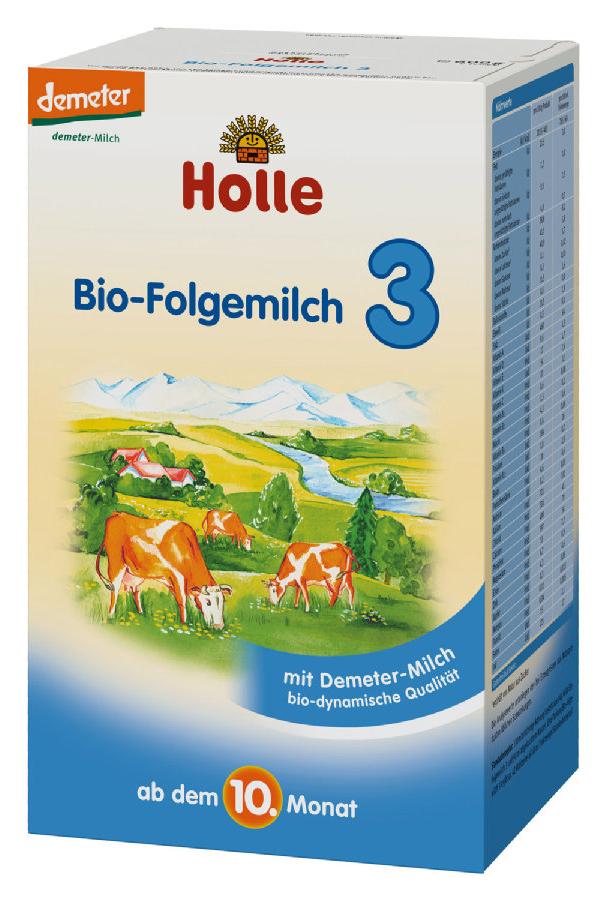 Sữa bò Holle 3 (600g)