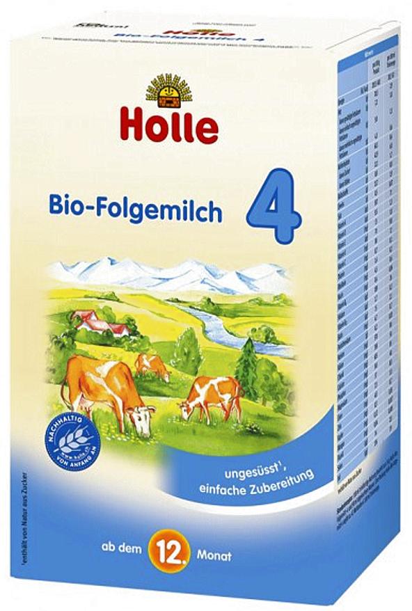 Sữa bò Holle 4 (600g)