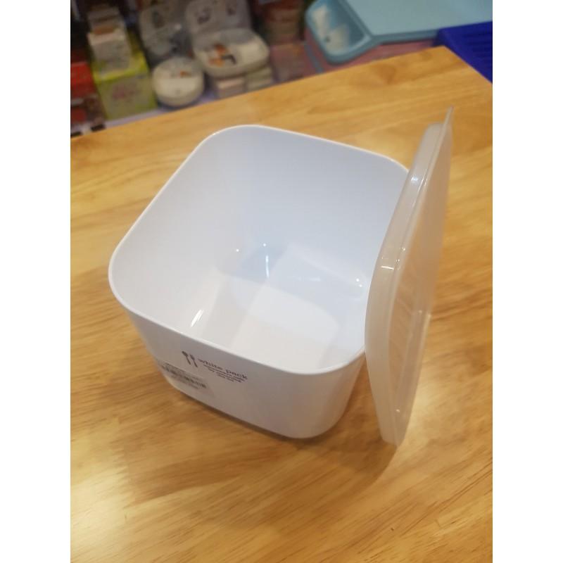 Hộp nhựa đựng thực phẩm White Pack 1L
