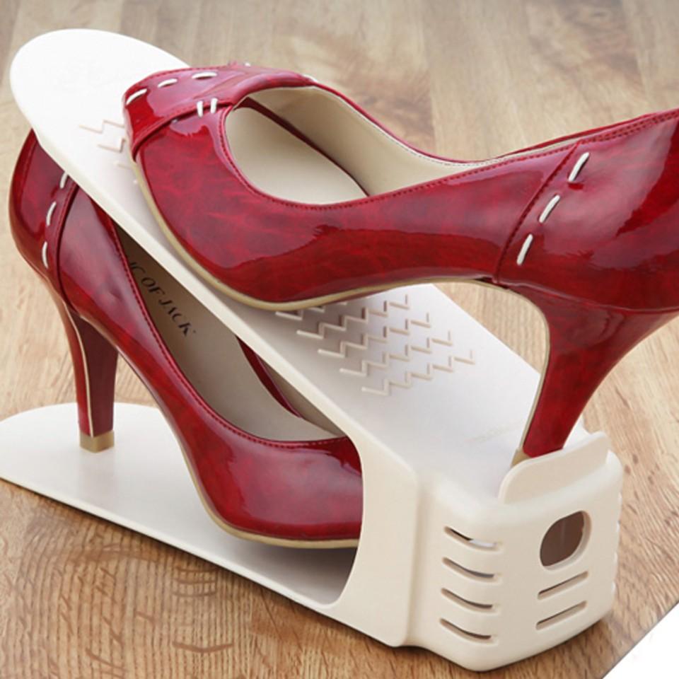 Combo 10 kệ để giày dép thông minh tiện dụng (Màu ngẫu nhiên)