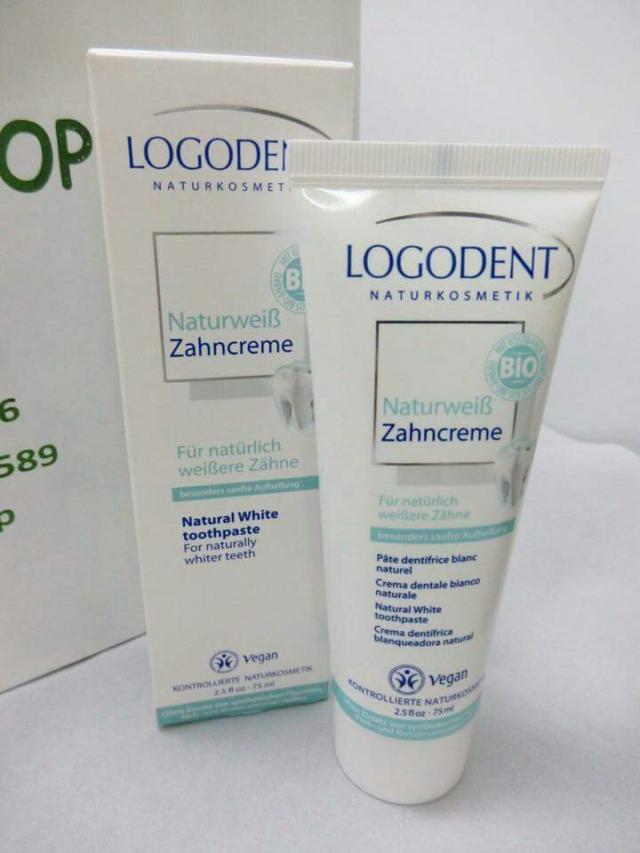Kem đánh răng trắng răng Logodent