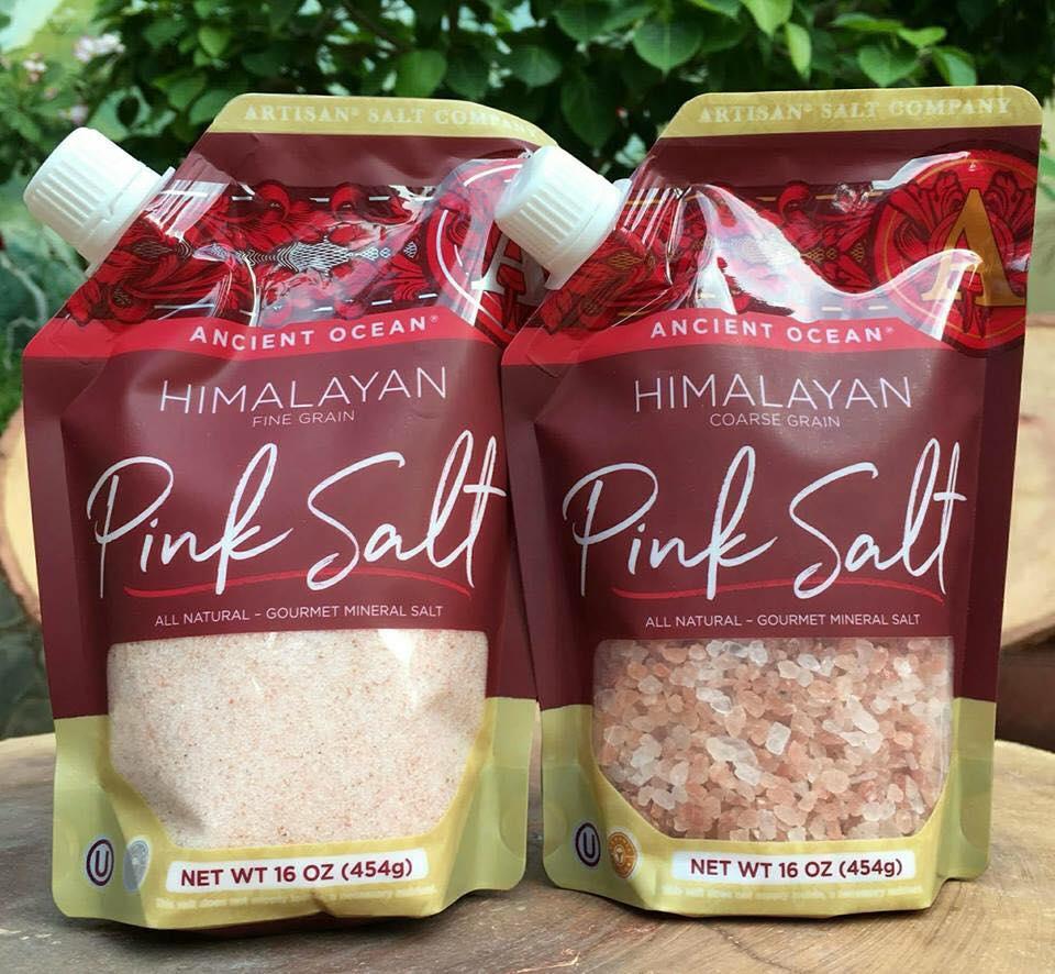 Muối hồng hữu cơ Himalaya ARTISAN (454g)