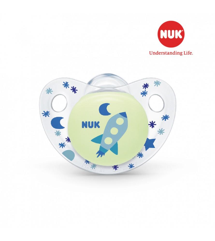 Bộ 2 ti giả  NUK Night/Day Silicone 18 - 36m NU48151