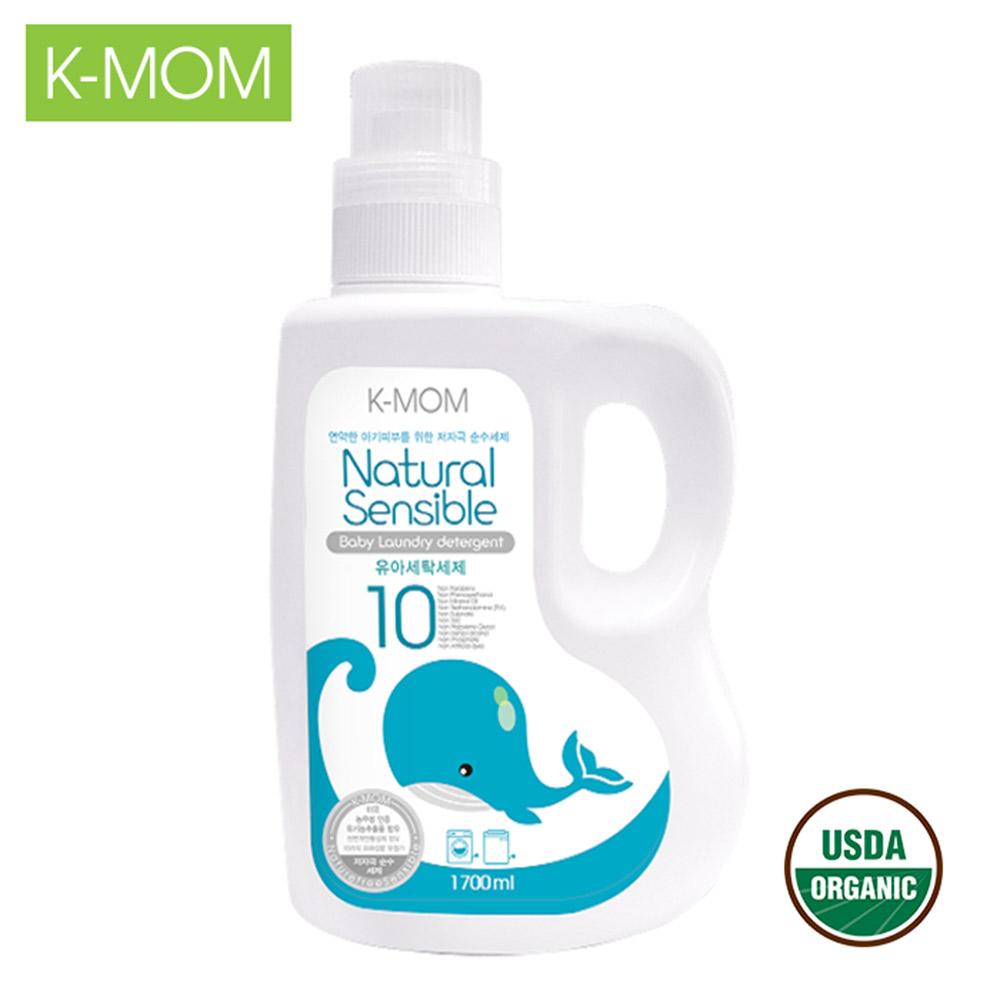 Nước giặt hữu cơ K-Mom Hàn Quốc dạng can (1700ml) K-MOM Laundry Detergent_Bottle_1700ml