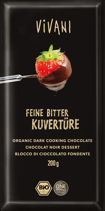 Socola cacao 70% Vivani (200g)