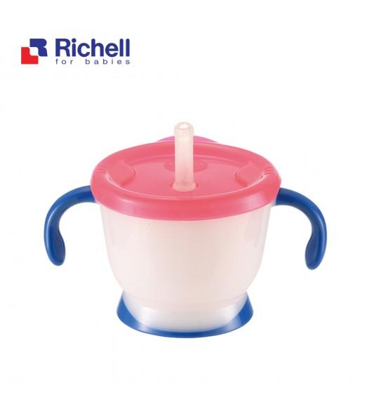 CỐC TẬP UỐNG 3 GIAI ĐOẠN RICHELL (TAY XANH) RC41011