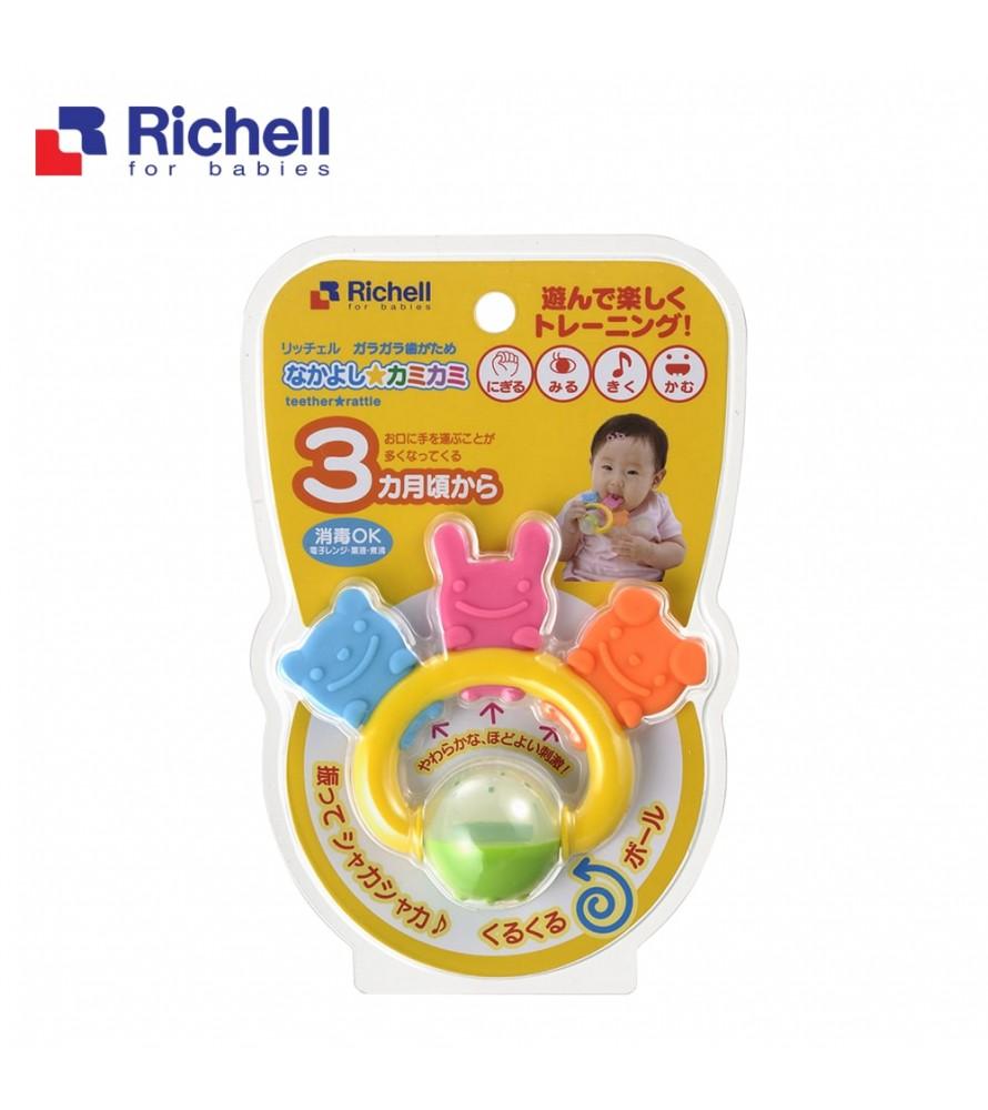 XÚC XẮC GẶM 3 NGƯỜI BẠN RICHELL RC49540