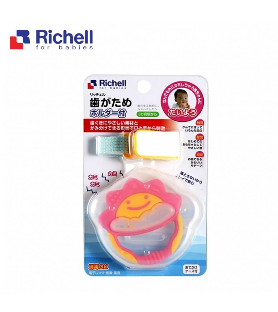 XÚC XẮC GẶM NƯỚU TRÒN CÓ DÂY ĐEO RICHELL (HỒNG) RC50352