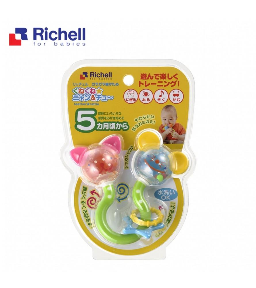 XÚC XẮC GẶM NƯỚU MÈO ĐUỔI CHUỘT RICHELL RC93753