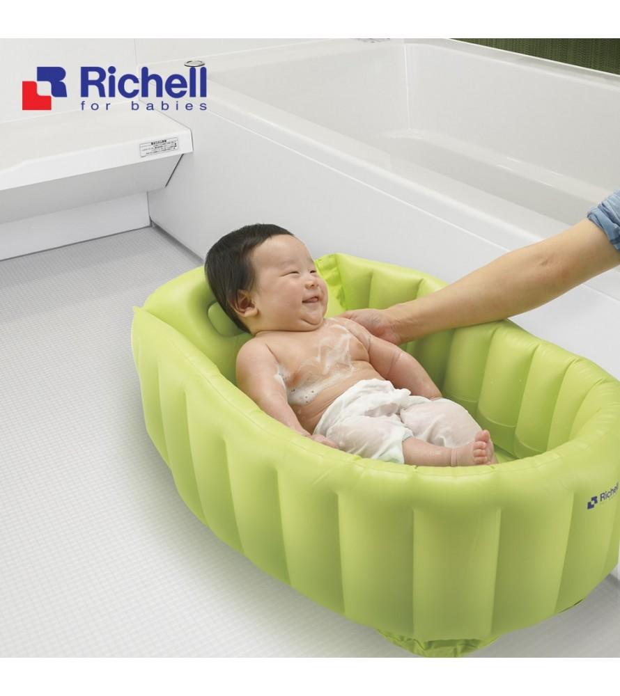 CHẬU TẮM PHAO RICHELL XANH RC98072