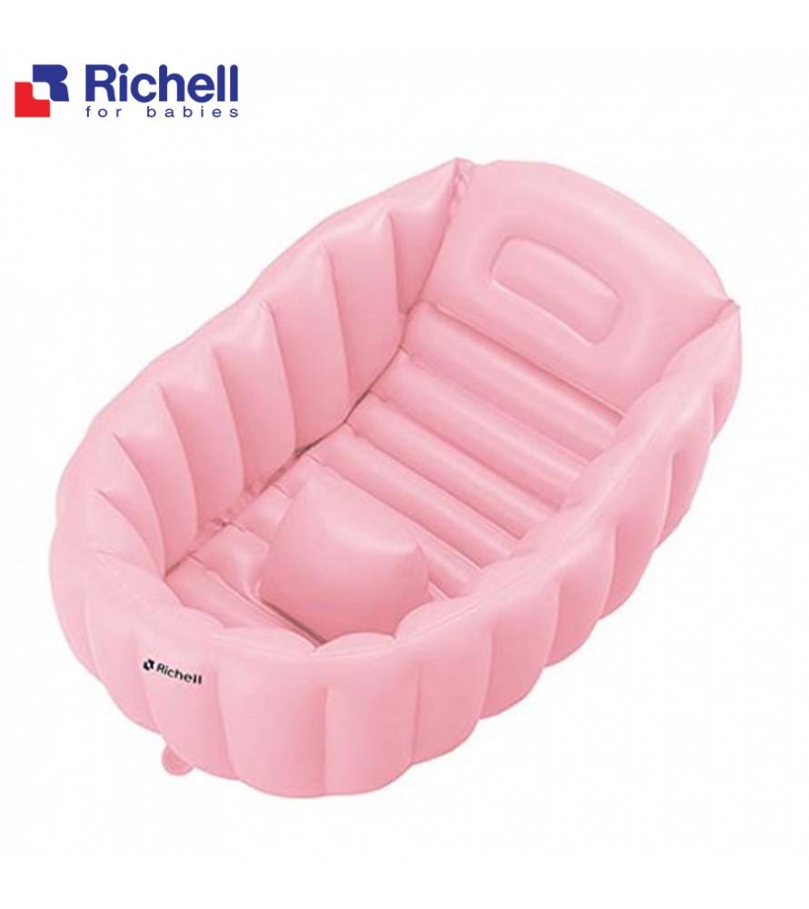 CHẬU TẮM PHAO RICHELL HỒNG RC98709