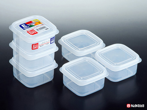 Set 3 hộp nhựa 200ml Nakaya