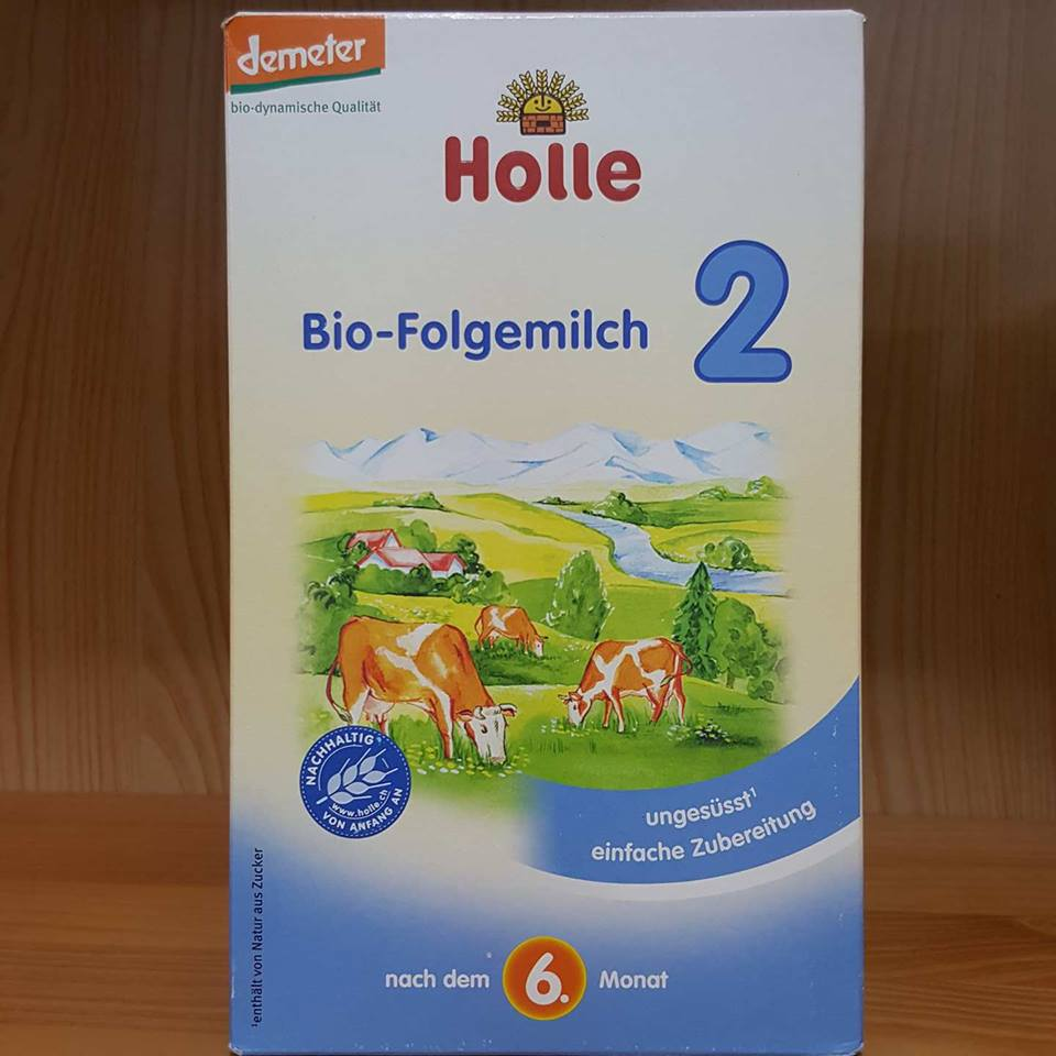 Sữa bò Holle 2 (600g)