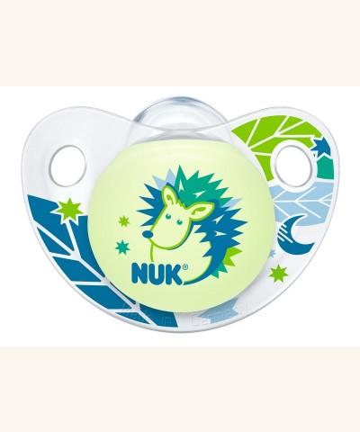 Bộ 2 ti giả  NUK Night/Day Silicone 0 - 6m NU48149