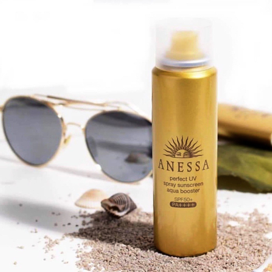Xịt chống nắng anessa Shiseido Nhật Bản mẫu mới Nhất