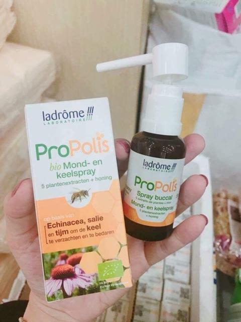 Xịt họng keo ong hữu cơ Propolis