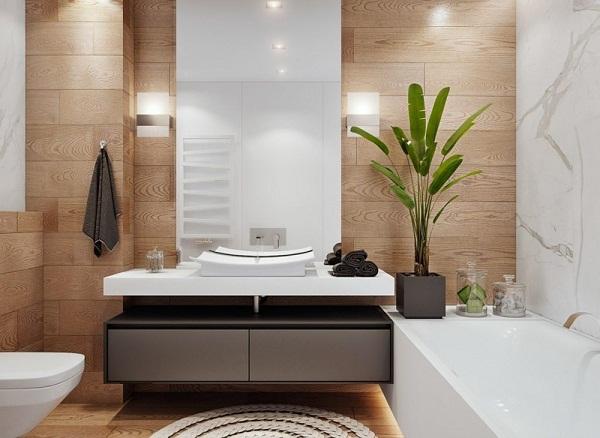 Vì sao nên lựa chọn sử dụng kệ trang trí phòng tắm