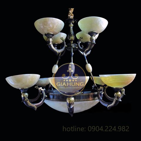 Gia Hưng cung cấp các mẫu đèn chùm với giá ưu đãi