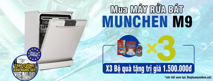 Máy rửa bát Munchen - Hàng cao cấp nhập khẩu EU