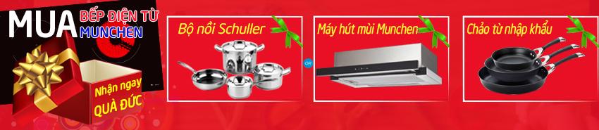 Mua bếp điện từ Munchen nhập khẩu Đức giá rẻ nhất Hà Nội