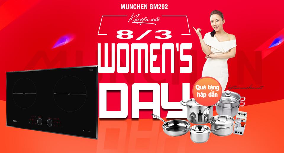 ưu đãi bếp từ munchen gm 292 ngày 8-3