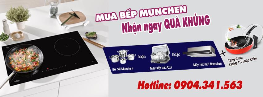 Mua bếp từ Munchen có đắt tiền không ?