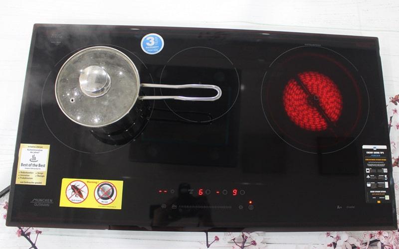 """BếpMunchen GM 5860 xứng đáng danh hiệu """"chiếc bếp Vàng"""""""
