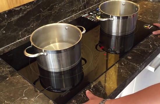 Bếp từ munchen đun nấu