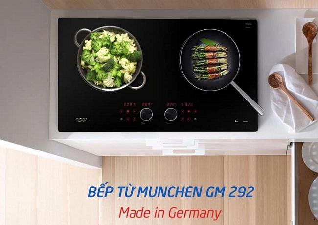 Bếp từ Munchen GM 292 đẹp mà chất lượng