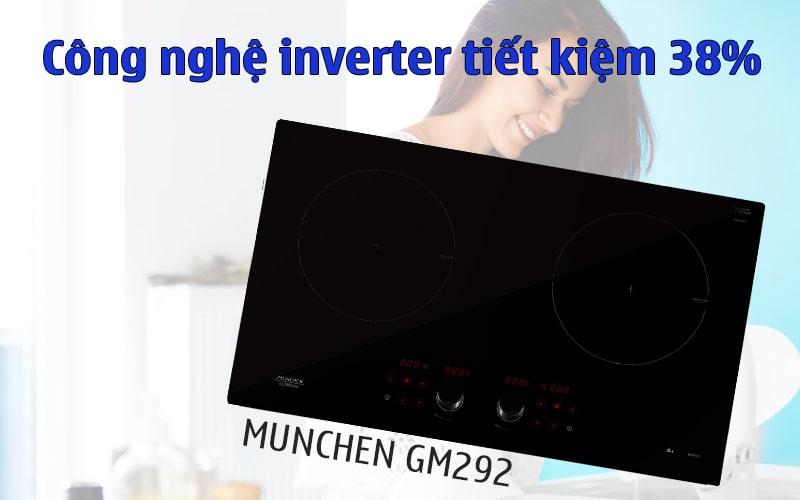 Bếp từ Munchen GM 292 inverter
