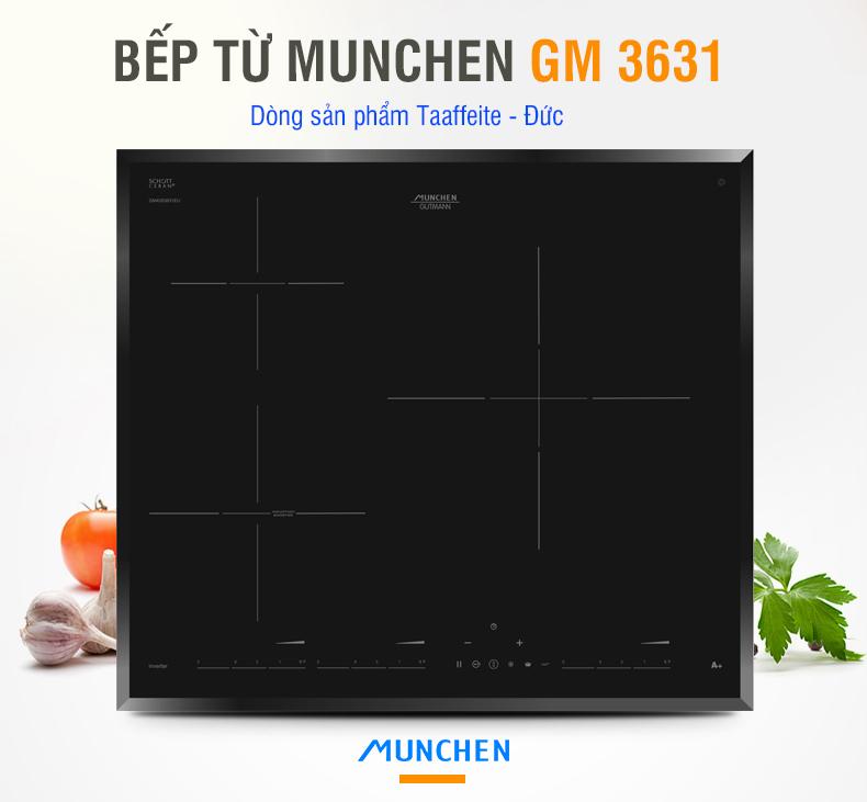 Bếp từ Munchen có chiếc nào sánh bằng GM 3631?