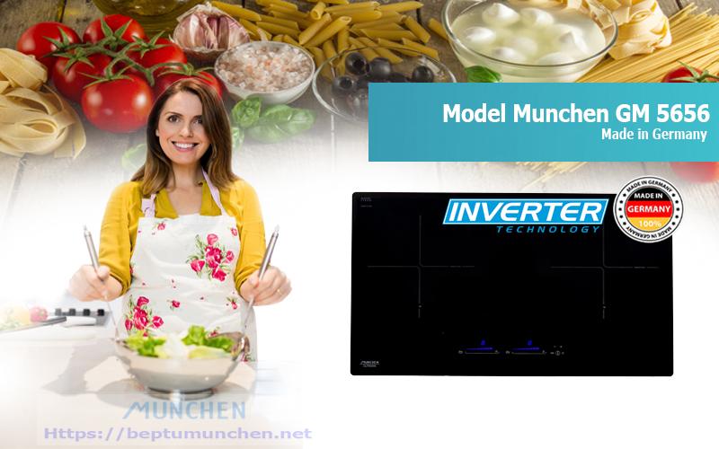 Bếp từ Munchen GM 5656 của Đức