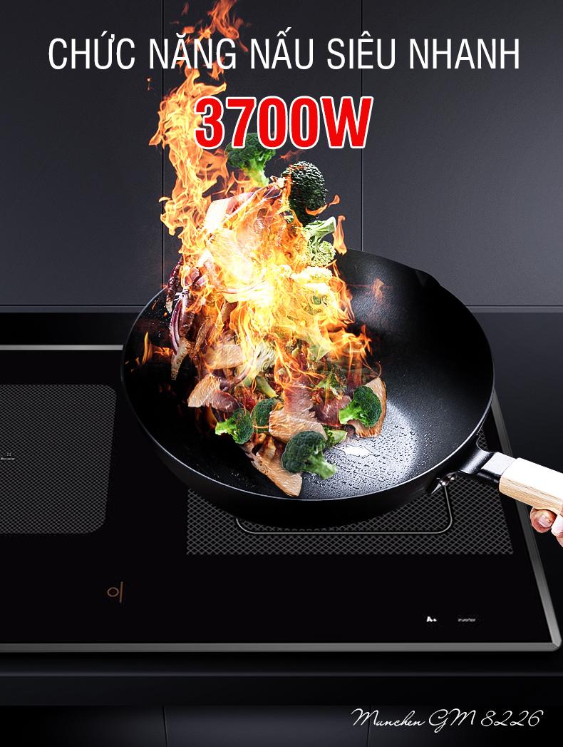Mức giá đẹp, bếp từ Munchen GM 8226 ai cũng muốn có