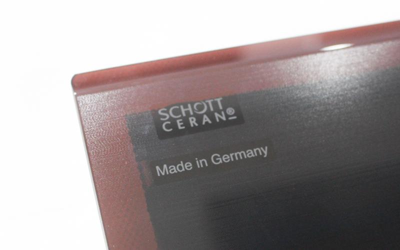 Mặt kính Schott Ceran phủ Saphir chống xước