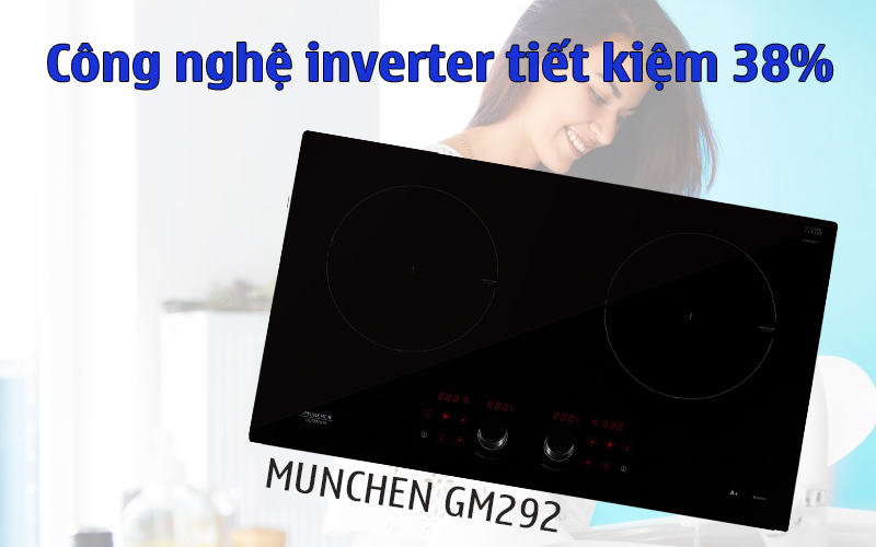 Bếp từ Munchen inverter 292
