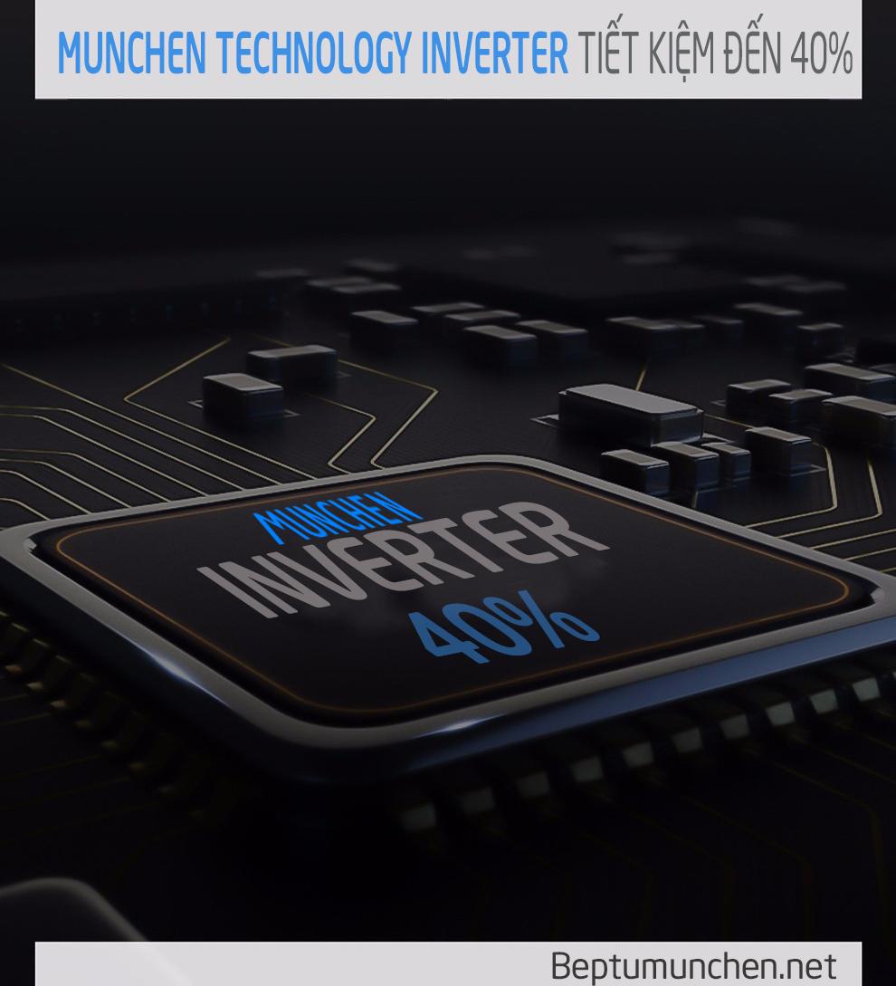Bếp từ Munchen Inverter IC5 tiết kiệm