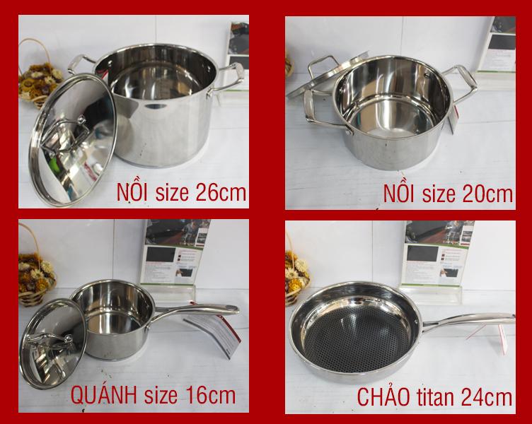 Munchen Q-Titan bộ nồi Đức số 1 hiện nay tại Việt Nam
